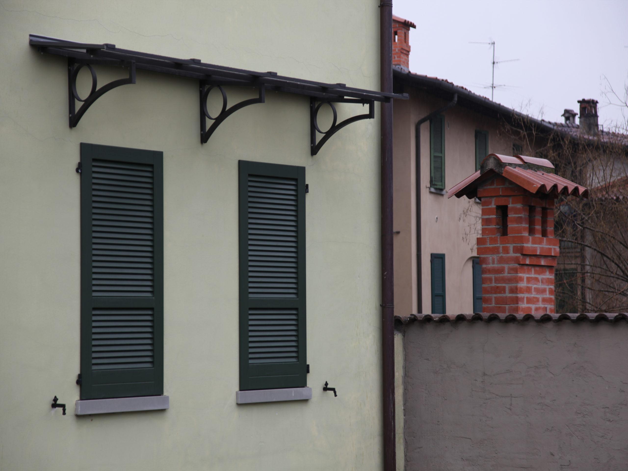 Pensilina Piana - Stezzano, Bergamo