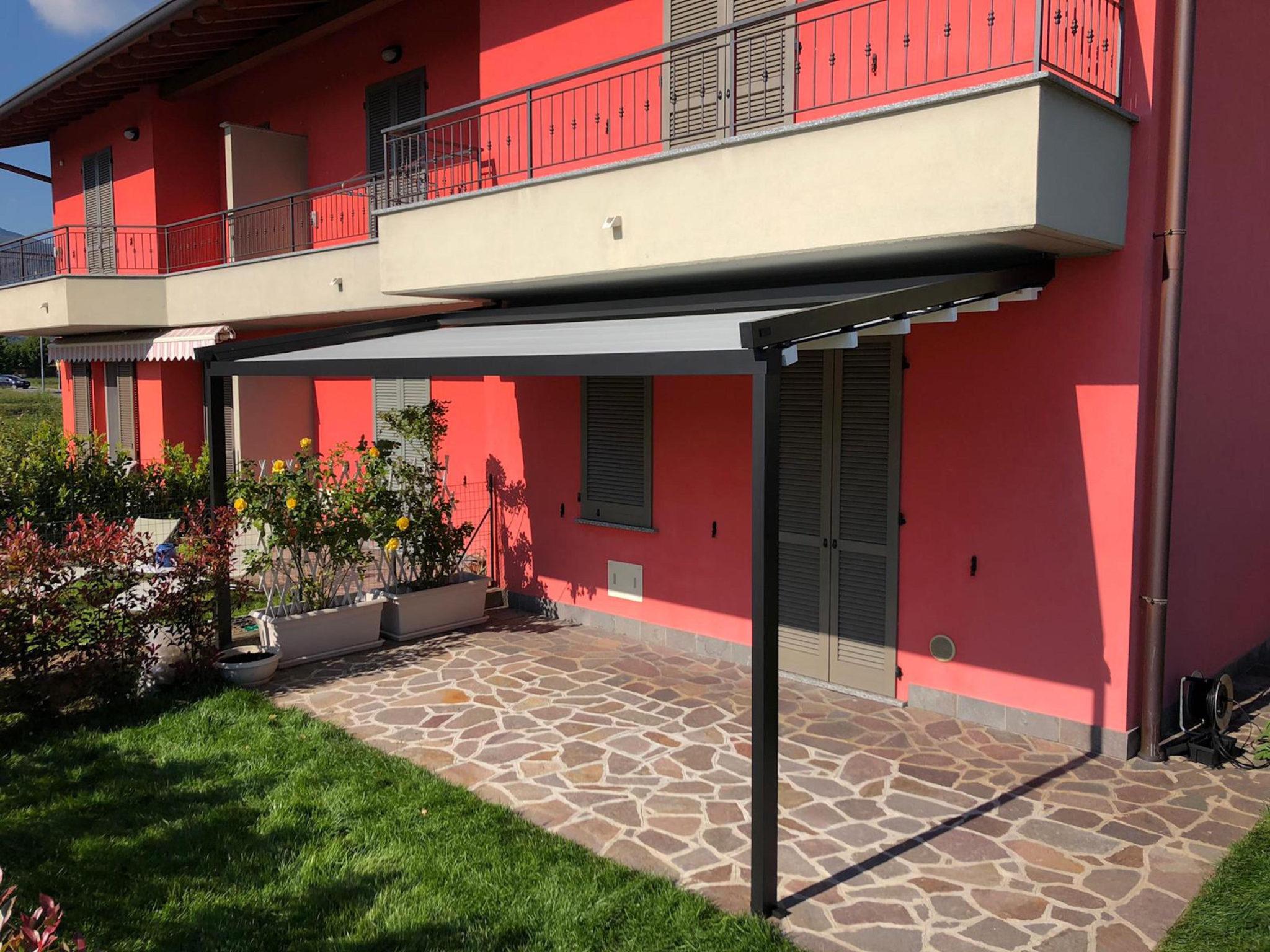 Pergola inclinata Med Jeans - Mapello, Bergamo
